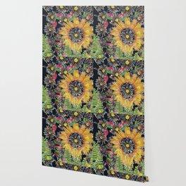 Flower Collage 2 Wallpaper