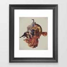 Blind Exodus Framed Art Print