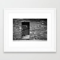 portal Framed Art Prints featuring Portal by Elina Cate