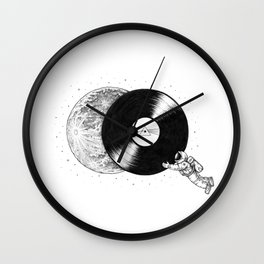 The Dark Side of the Moon Wall Clock