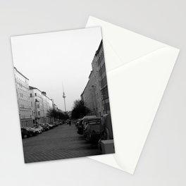 Berliner Fernsehturm B&W Stationery Cards