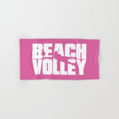 Beach volley Hand & Bath Towel