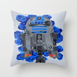 R2-D2 Throw Pillow