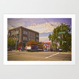 Hyde St. Art Print