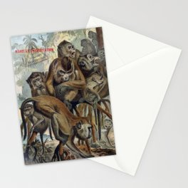 Macaques for Responsible Travel Stationery Cards