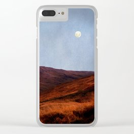 Moon Over Rannoch Clear iPhone Case