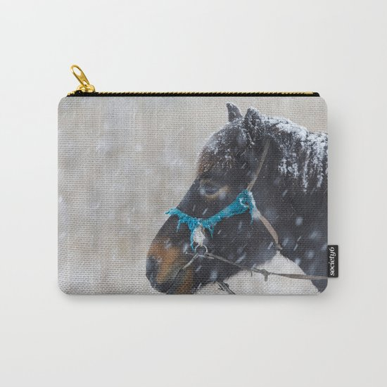 Winter Horse II Carry-All Pouch
