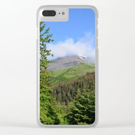 Summer Greens! Clear iPhone Case