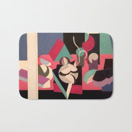 Objects on a Table Bath Mat