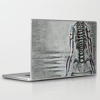 swim Laptop & iPad Skins featuring swim by Maithili Jha
