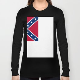 Bloodstained Banner Of The Confederacy Long Sleeve T-shirt