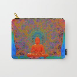 Cool Water Zen (Ultraviolet) (psychedelic, meditation) Carry-All Pouch