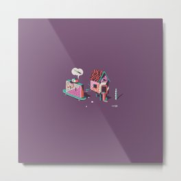 worst enemies Metal Print