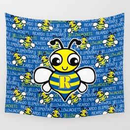 Ricardo Elementary Yellowjackets Wall Tapestry