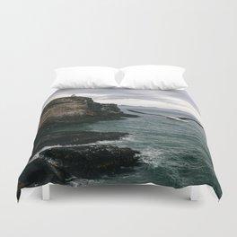 Coastal Albatross Duvet Cover