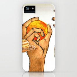 Who Controls The Universe? iPhone Case