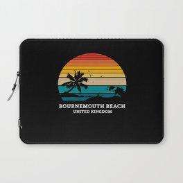 BOURNEMOUTH BEACH UNITED KINGDOM Laptop Sleeve