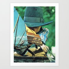 UNTITLED )p) Art Print