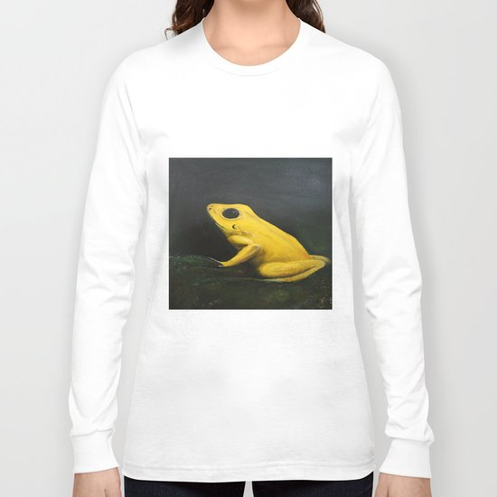 Yellow Frog Long Sleeve T-shirt