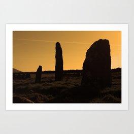 Ancient Monument Art Print