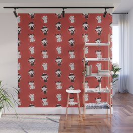 Girls Growing Up (Patterns Please) Wall Mural