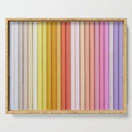 Color pencil Serving Tray