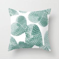 Cactus Dots Throw Pillow