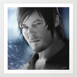 Daryl Dixon - The Walking Dead Art Print