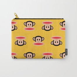 Julius Monkey Pattern by Paul Frank - Yellow Carry-All Pouch
