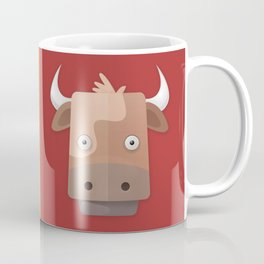 Warhol's Cow Coffee Mug