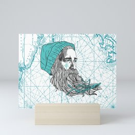 Ahoi Sailor Hauke Mini Art Print