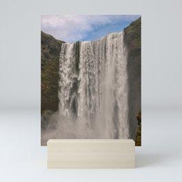 Chasing Waterfalls x Skogafoss Mini Art Print