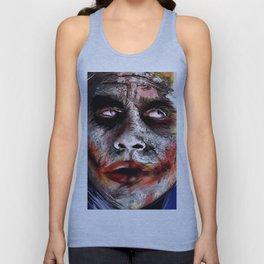 The Joker Painted Unisex Tank Top