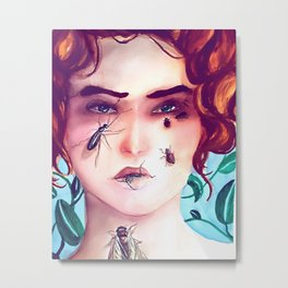 Infested Metal Print