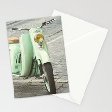 Mint Moto Stationery Cards