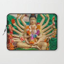 Buddhist Goddess Laptop Sleeve