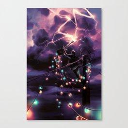 Defy the sky Canvas Print
