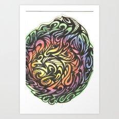 Aztec  Art Print