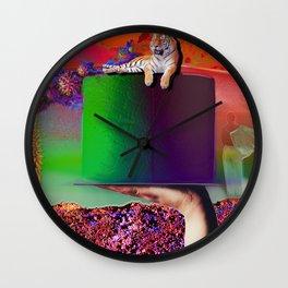 """C-19"" Valentine Series by weart2.com Wall Clock"
