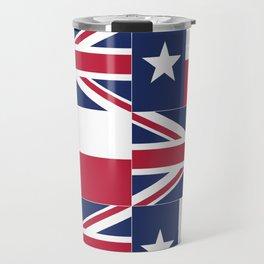 Union Jack Texas Flag Travel Mug