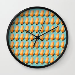 77 Melting Ice Creams Wall Clock