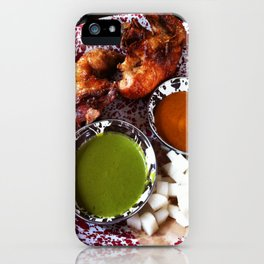 Beer can chicken iPhone Case