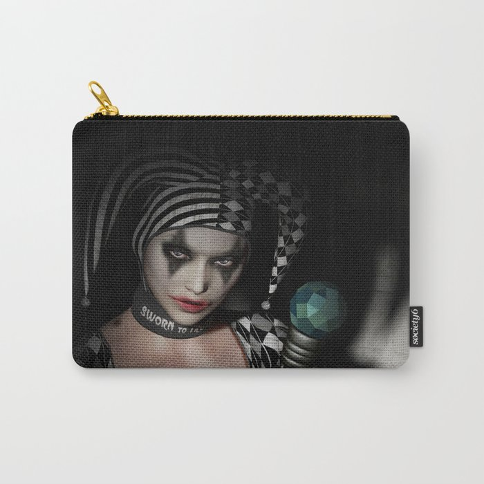 Dark clown Carry-All Pouch