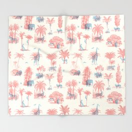Where they Belong - Pastel Colors Throw Blanket