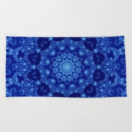 Ocean of Light Mandala Beach Towel