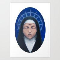 Unholy Visions Art Print