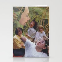 sisters Stationery Cards featuring Sisters by Jon Duci