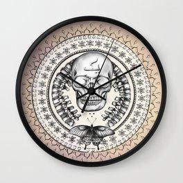 Mandala # Wall Clock