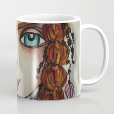 WILD FEATHER, Free Spirit Girl Series Coffee Mug