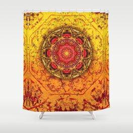 Rocks Mandala Shower Curtain